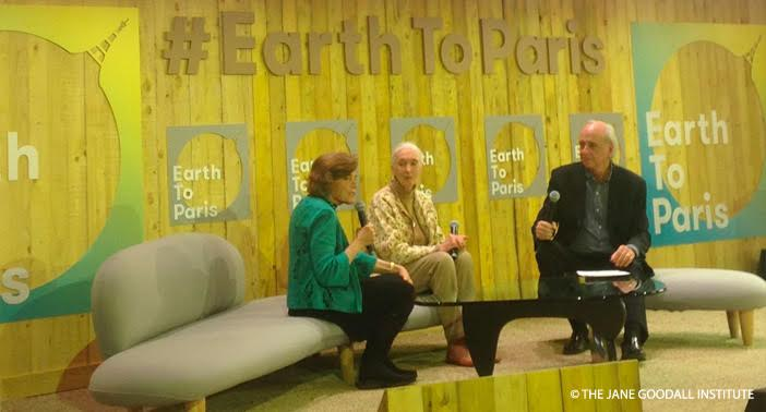 Dr. Goodall and Dr. Earle (Mission Blue) discuss The Tapestry of Hope with Jeff Horowitz (AD Partners)