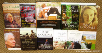 Dr. Goodall has written more than 30 books.