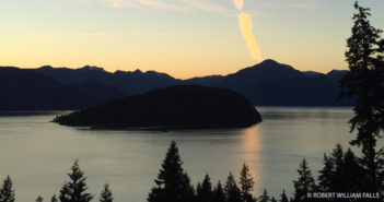 Howe Sound on the Salish Sea