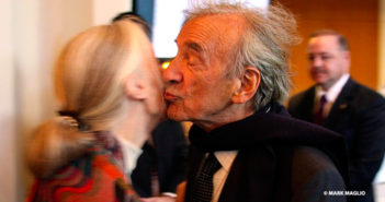 Dr. Jane Goodall and Elie Wiesel