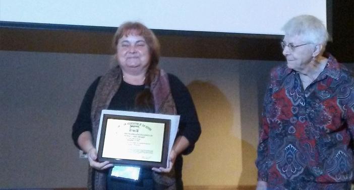 Hilda_AAZK_Award