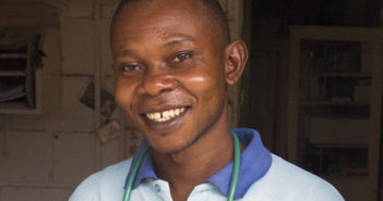 JGI Tchimpounga Staff member Hugues Boungou