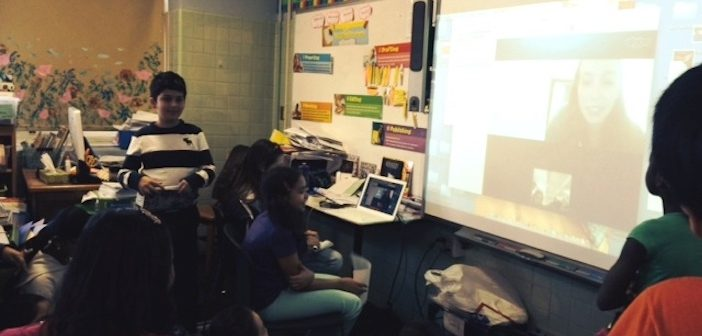 Classroom Skype Session