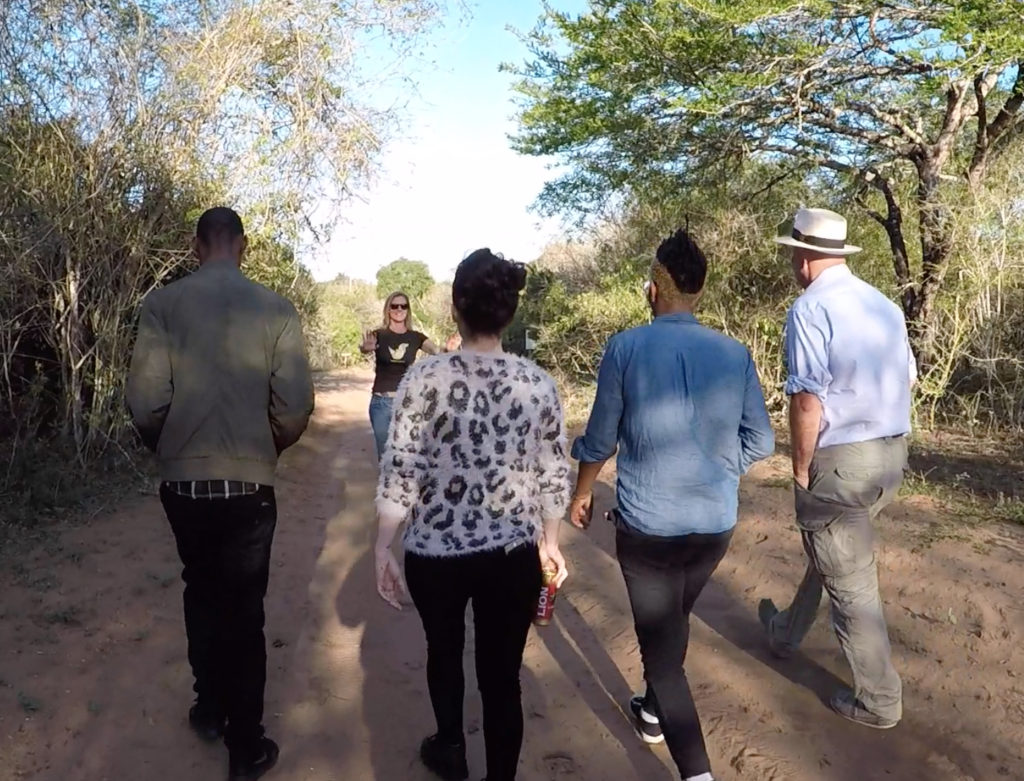 'Fresh,' Toya Delazy, & BBC Film Crew   Saving the Wild
