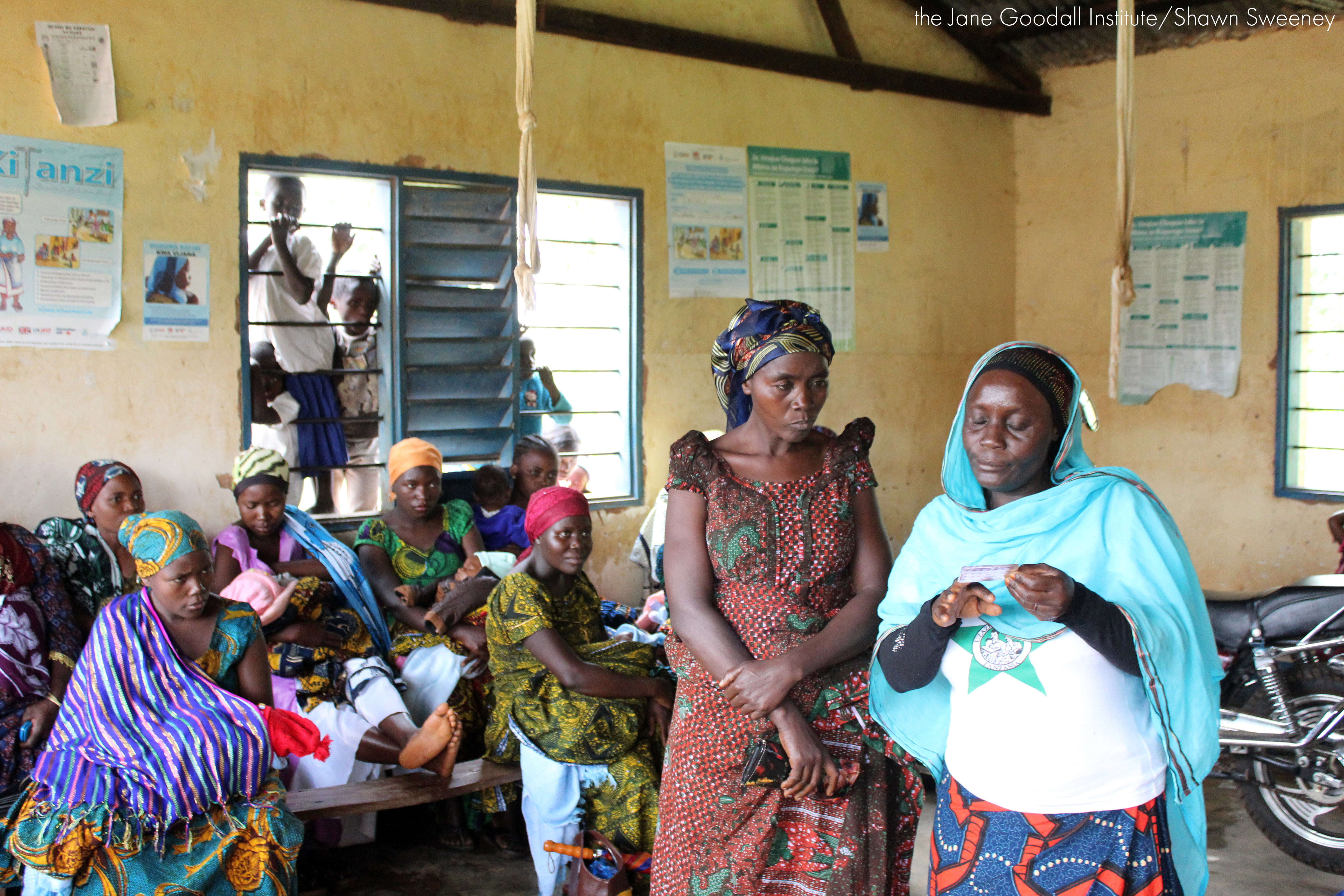 JGI TACARE health education program in Kalinzi Village