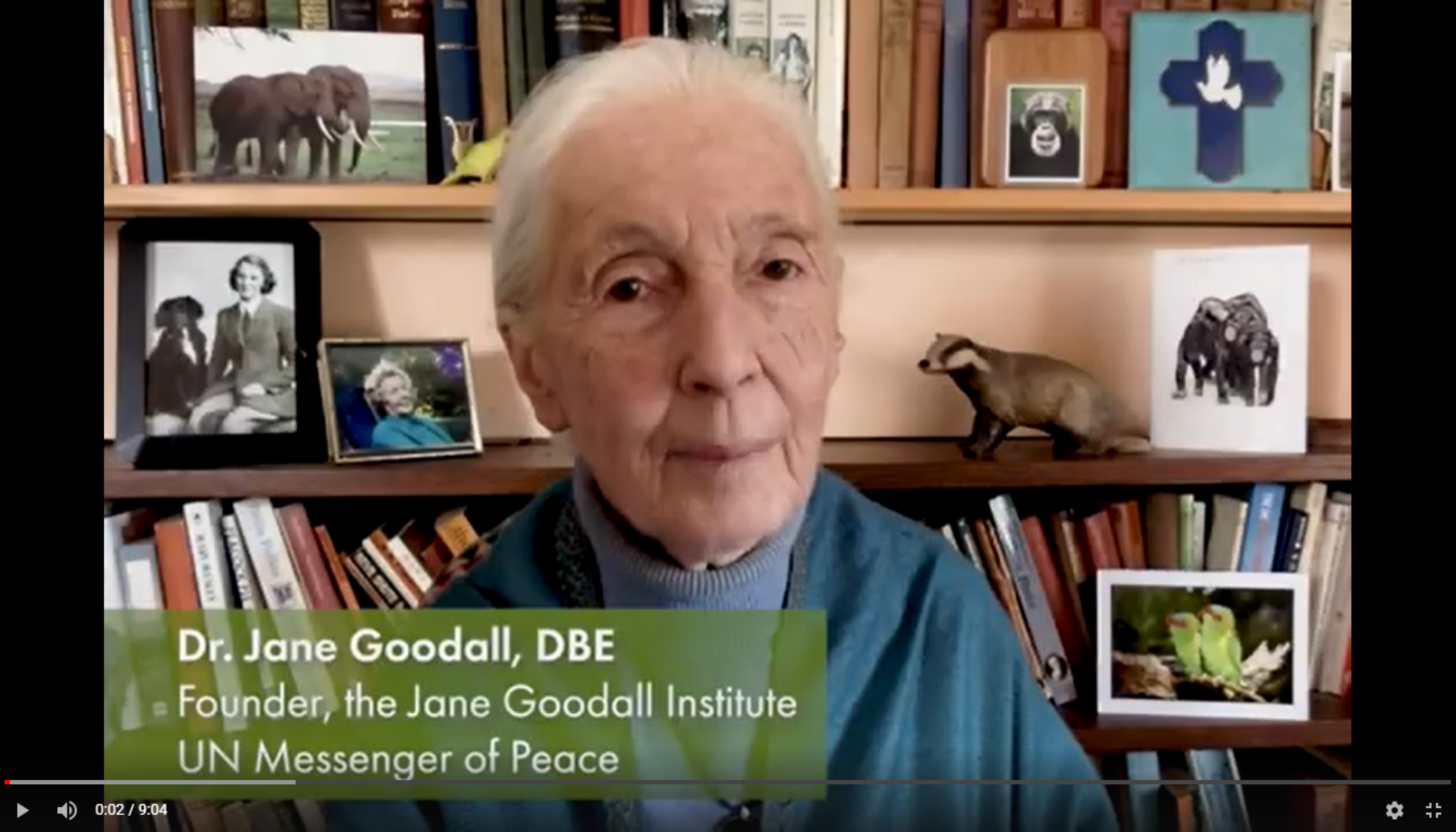 Dr. Jane Goodall's Message for Earth Day 2021
