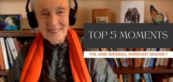 Top Moments of Jane Goodall Hopecast Season 1