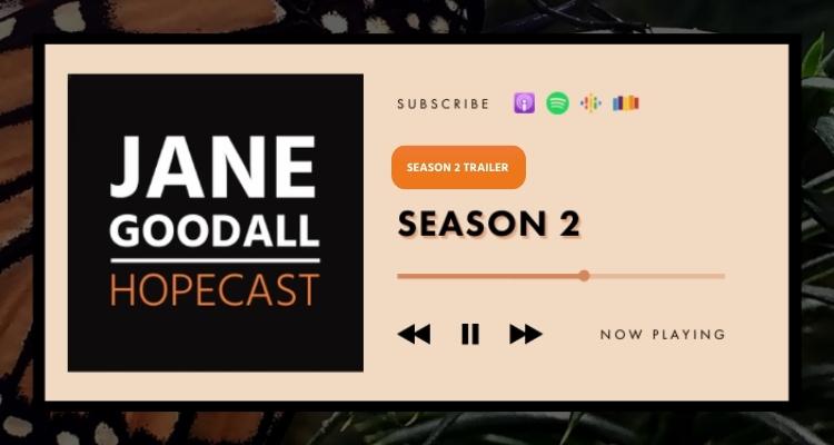 Jane Goodall Hopecast Podcast Season Two Trailer!